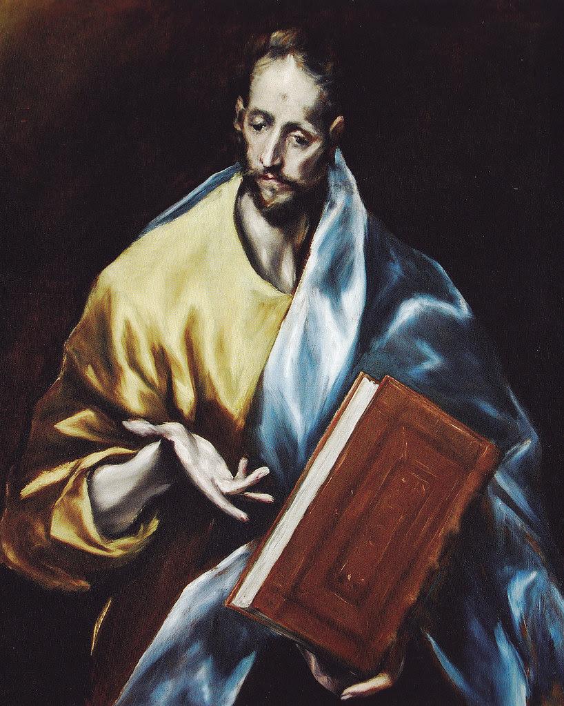 Santiago el Menor. Obra de El Greco