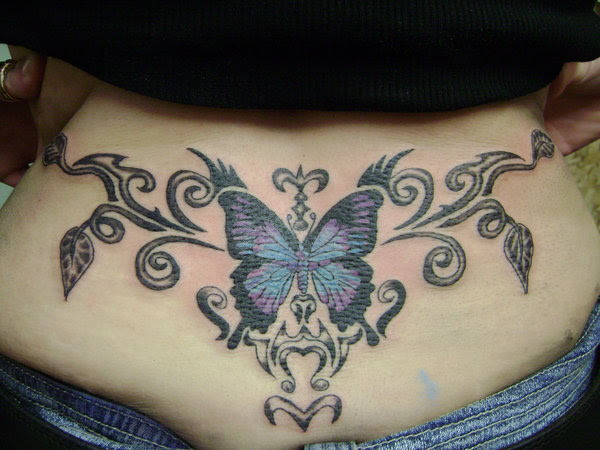 The Powerful Magnetism Of The Tramp Stamp Tattoos Tattoos Win