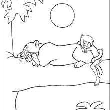 43 Jungle Book Coloring Pages Free Picture HD
