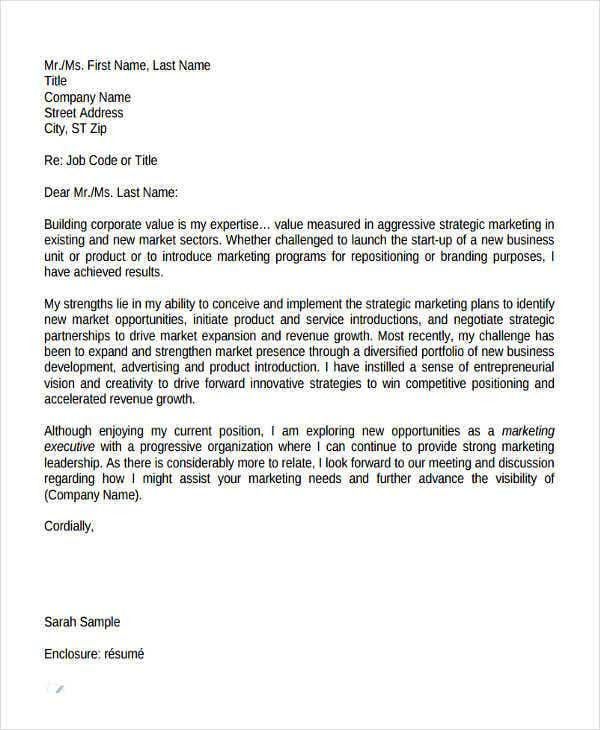 43 Formal Application Letter Template Free Premium