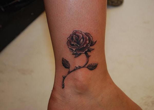 Flower Ankle Tattoos Flowers Healthy