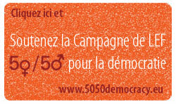 50 50 campaign for Democracy