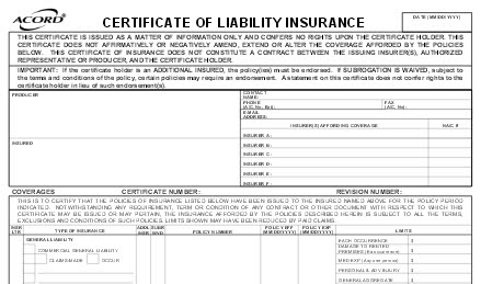 You may want to read this about Additional Liability ...