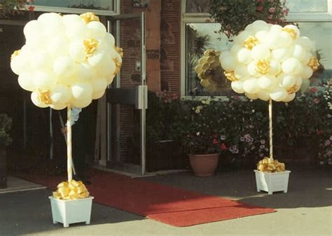 Balloon Decoration for Weddings and Parties throughout