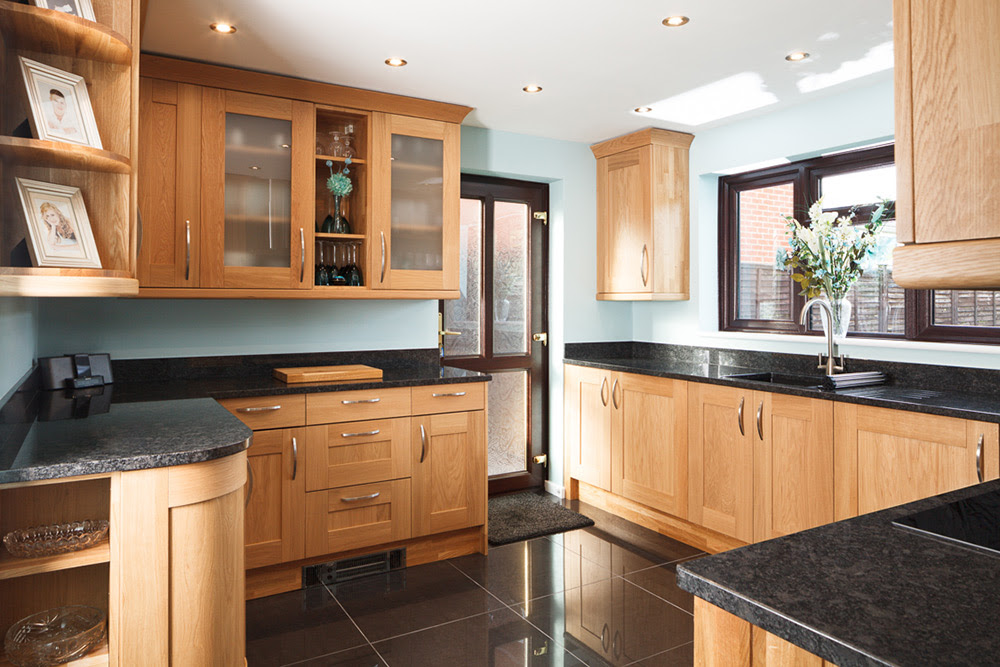 Real Oak Solid Wood Kitchen Units & Cabinets - Solid Wood ...
