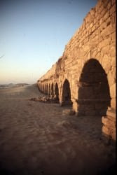 Roman Aqueduct, Caesarea (Institute for the Study of the Ancient World)