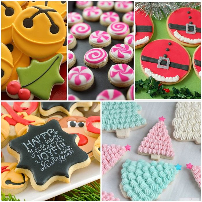 decorated christmas cookie ideas, PLUS christmas cookie decorating tips, tricks, and recipes