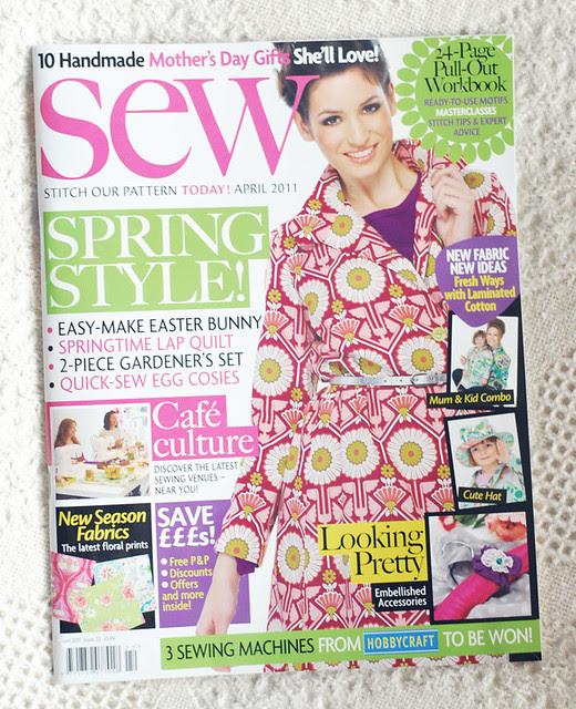SewMagazine April 2011