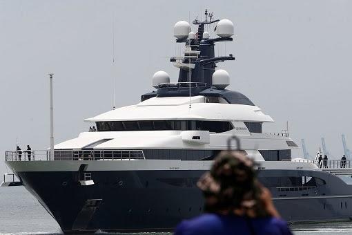 The Equanimity Super Yacht - Dorks at Port Klang Malaysia