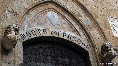 Monte dei Paschi di Siena, the world's oldest bank still in existence, operating continuously since 1472