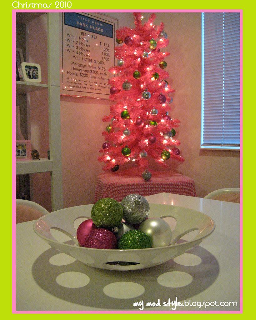 Pink Tree - Nov 2010