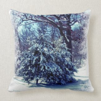 Winter Wonderland Christmas Pillows