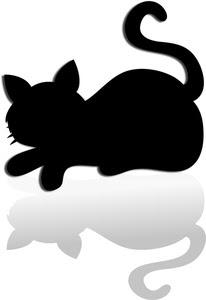 Download Cat Silhouette Clip Art - ClipArt Best