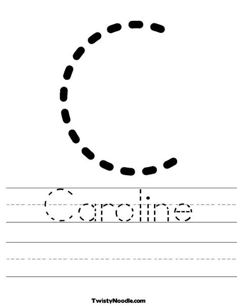 Create your own customized tracing sheets at TwistyNoodle.com  Preschool/School/Teacher  Pinterest