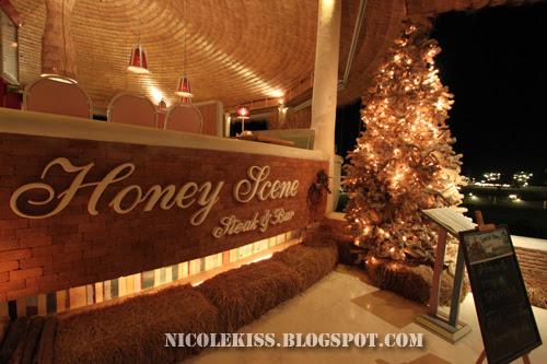 beautiful honey scene