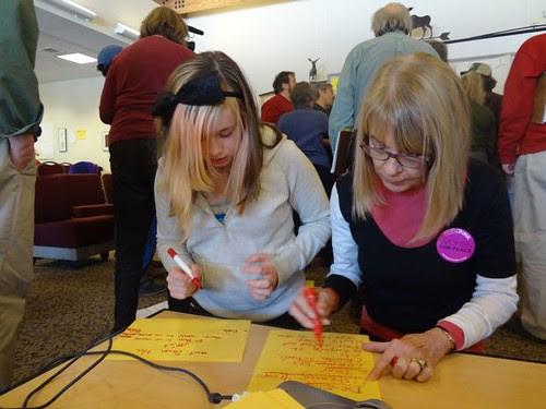 Women Occupy discussion topics
