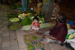 The Marathi Vegetable Sellers Child by firoze shakir photographerno1