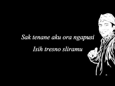 Lirik lagu jawa Sewu Kuto oleh Didi Kempot