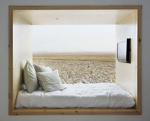 Window bed - Hotel Aire de Bardenas in Spain by ooh_food, via Flickr