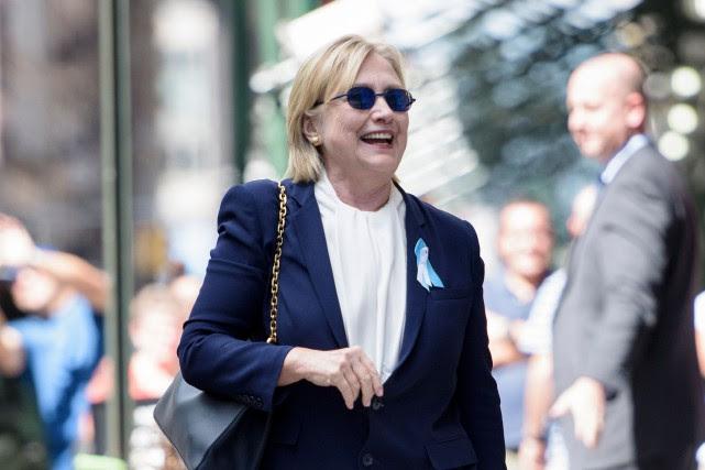 Après son malaise, la démocrate, qui aura 69... (AFP)