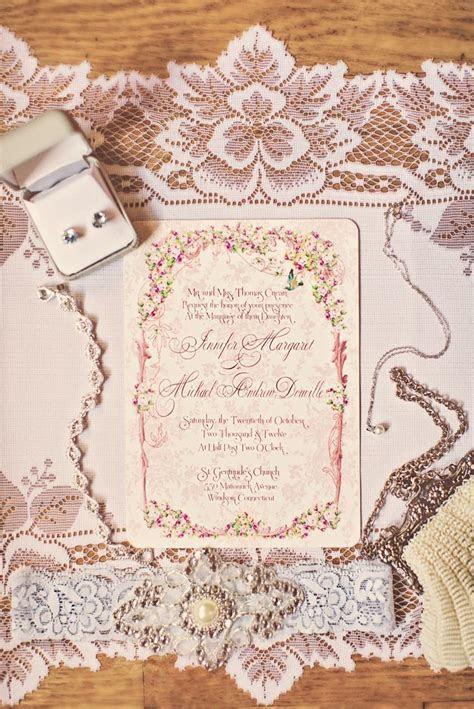 Vintage Pink Wedding in Connecticut   OneWed