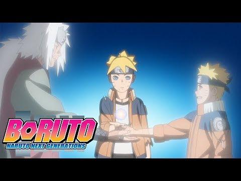 Boruto Rasengan Naruto Uzumaki