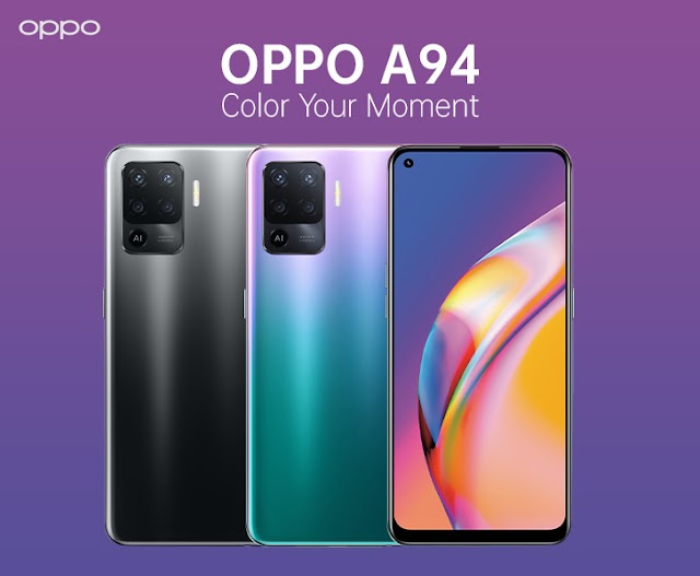 New Mid-range Oppo A94 Unveiled; Options OLED Display screen, 30W Quick Charging, and a Light-weight Design