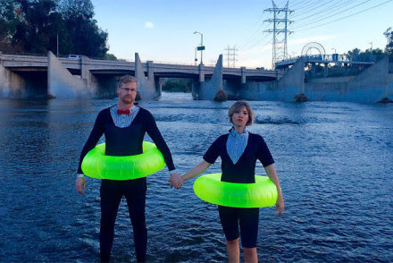 Inner Tube Race L.A. River