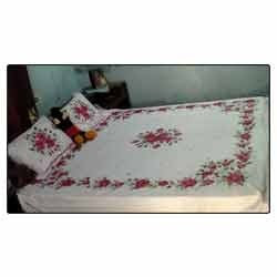Fabric Painting Products Designer Bedsheets Manufacturer From Vadodara