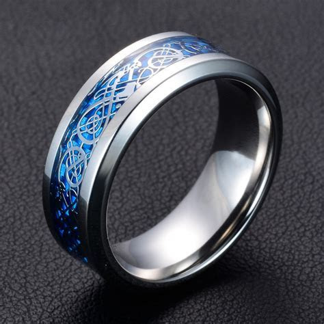 11 colors Blue Black Silvering Irish Dragon Titanium
