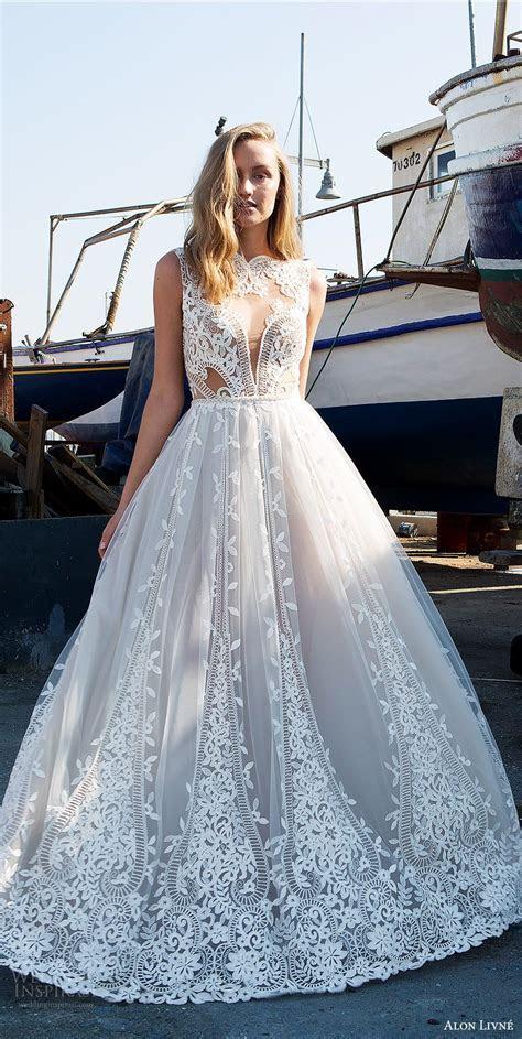 Alon Livne White 2017 2018 Wedding Dresses   Lace ball