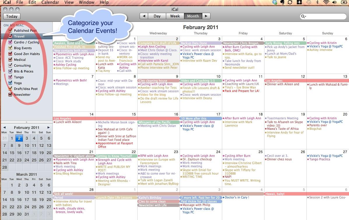 Calendar_Organize