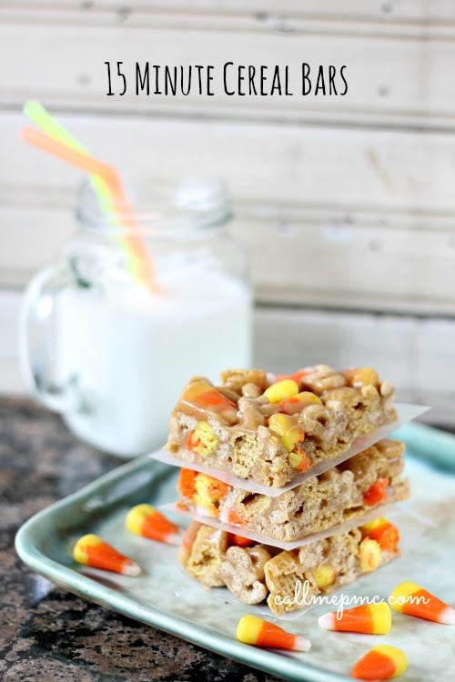 Cereal Bars 15 Minute  w www.callmepmc.com
