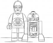 Coloriage Lego Star Wars à Imprimer