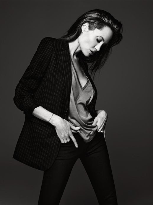 Le Fashion Blog Angelina Jolie Elle Magazine June 2014 By Hedi Slimane Pinstripe Jacket photo Le-Fashion-Blog-Angelina-Jolie-Elle-Magazine-June-2014-By-Hedi-Slimane-Pinstripe-Jacket.jpg