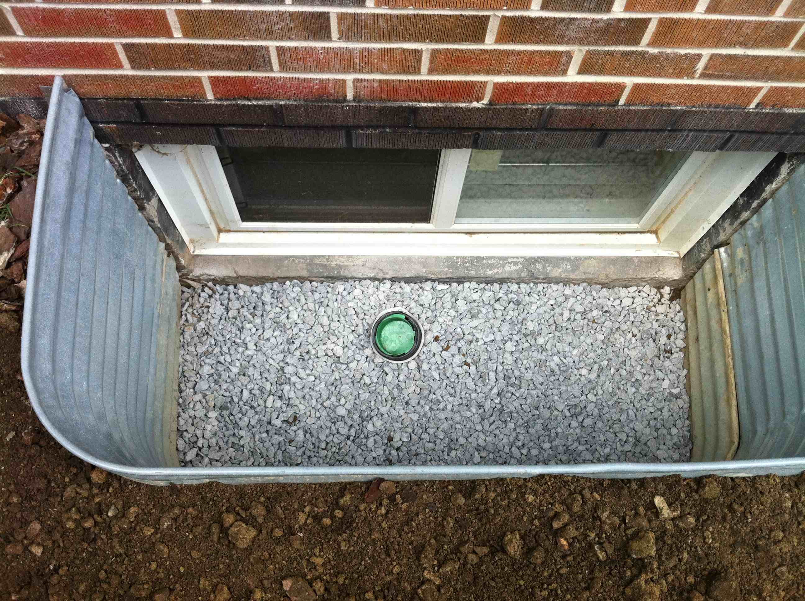 Completed Window Well Installation 2