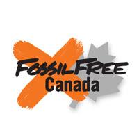 Fossil Free Canada logo