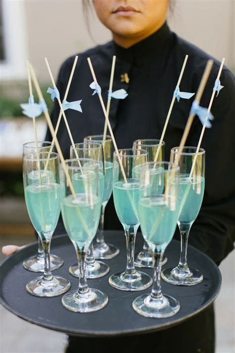 54 best Green & Blue Wedding Signature Drinks images on