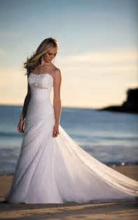 Beach inspired wedding dresses   Luxury Brides