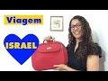 O que levar na mala Israel - Dicas de viagem