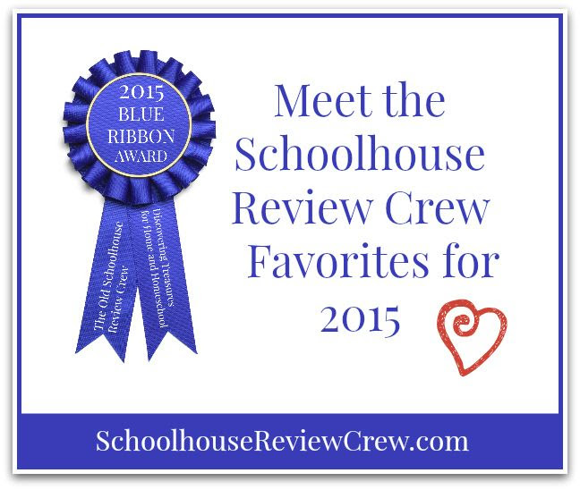 2015 Schoolhouse Review Crew Blue Ribbon Awards
