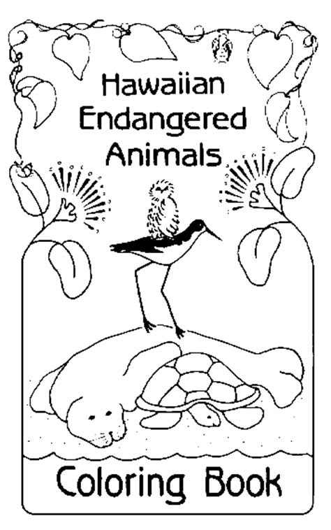 coloring pages  animals endangered plants driverlayer