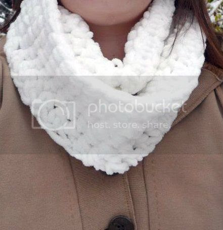 chunky circle scarf crochet pattern