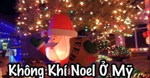 Đi Xem Đèn Đón Giáng Sinh - Không Khí Noel Tại Mỹ - Cuộc Sống Ở Mỹ - Co3nho 309