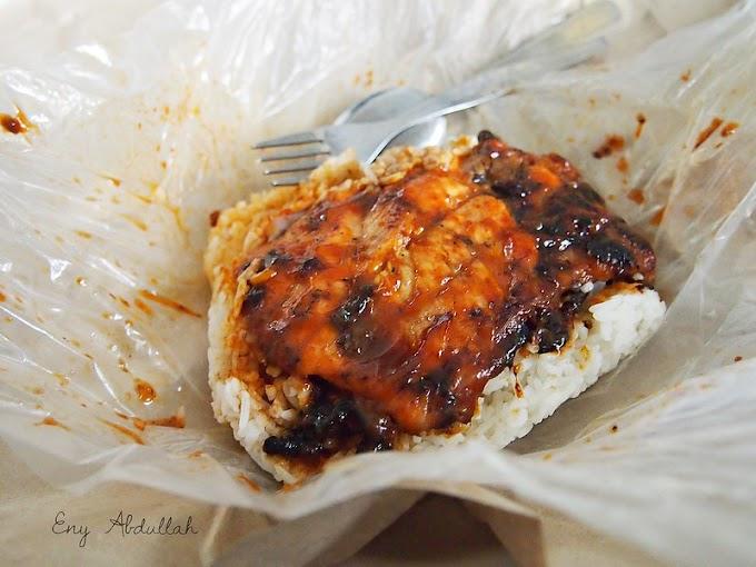 Nasi Lemak Ayam Panggang