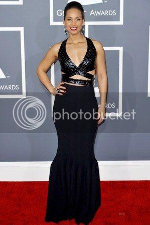 Grammys 2013 Red Carpet Fashion Styles photo Grammys-2013-alicia-keys_zps28c5e3f4.jpg