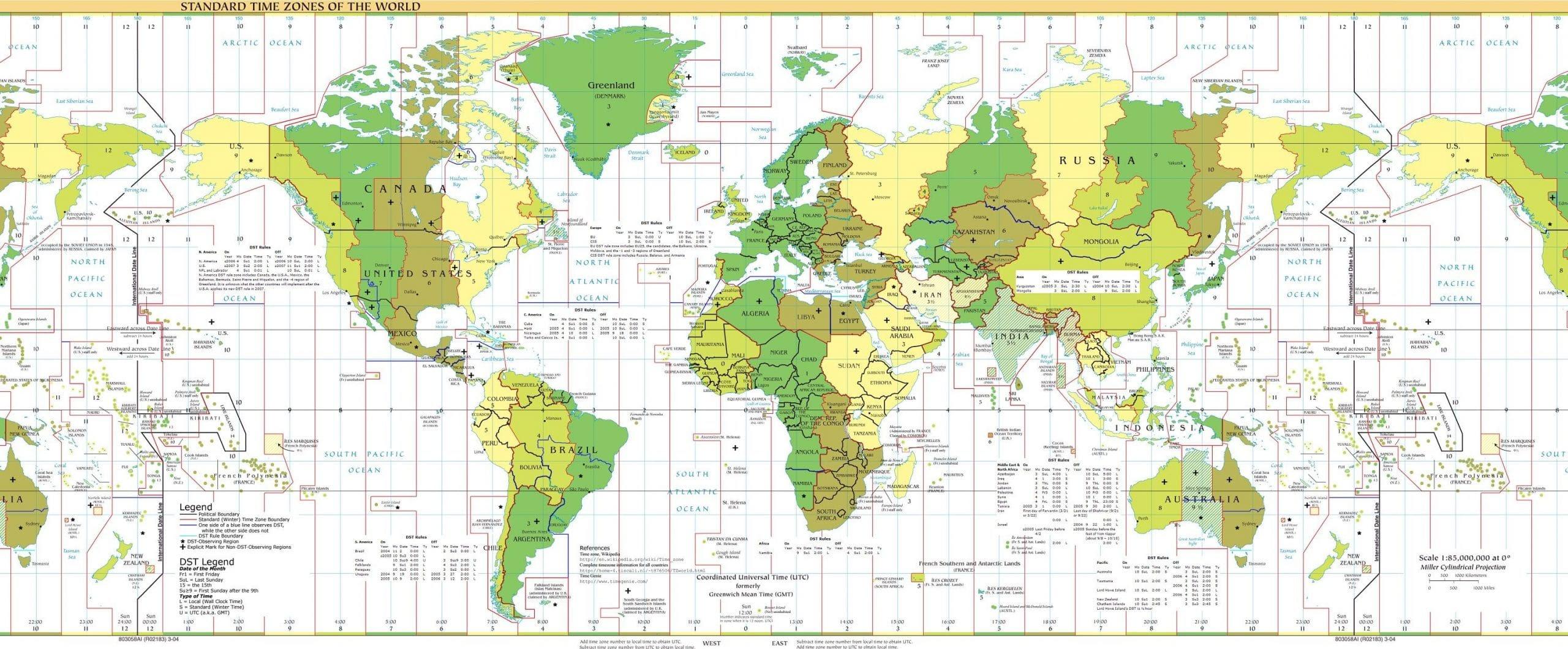 Atlas Monde Cartes Et Informations Sur Les Pays