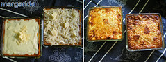 antes y después del horno