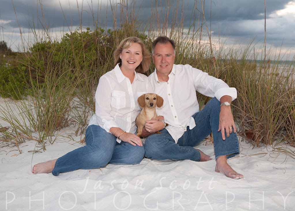 Holland Family on Siesta Key, May 2012