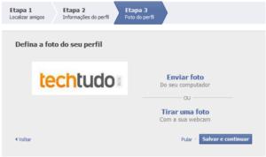 Foto de perfil (Foto: Reprodução/Camila Porto)